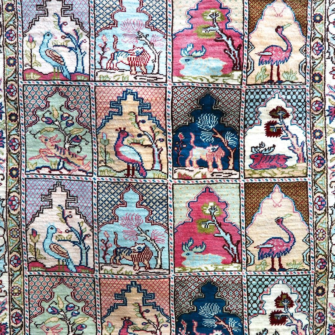 Persian Silk Carpet - 2