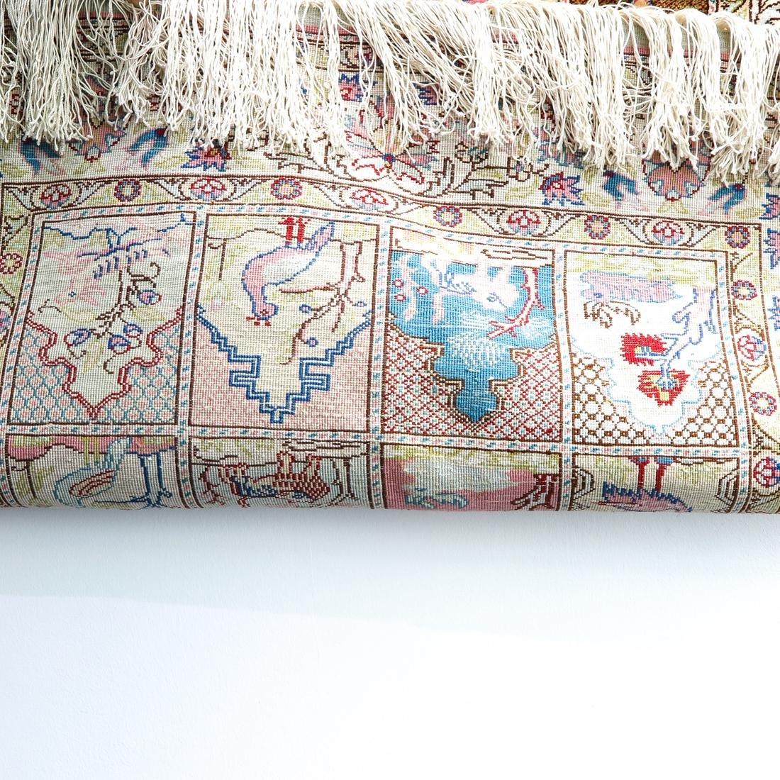 Persian Silk Carpet - 3
