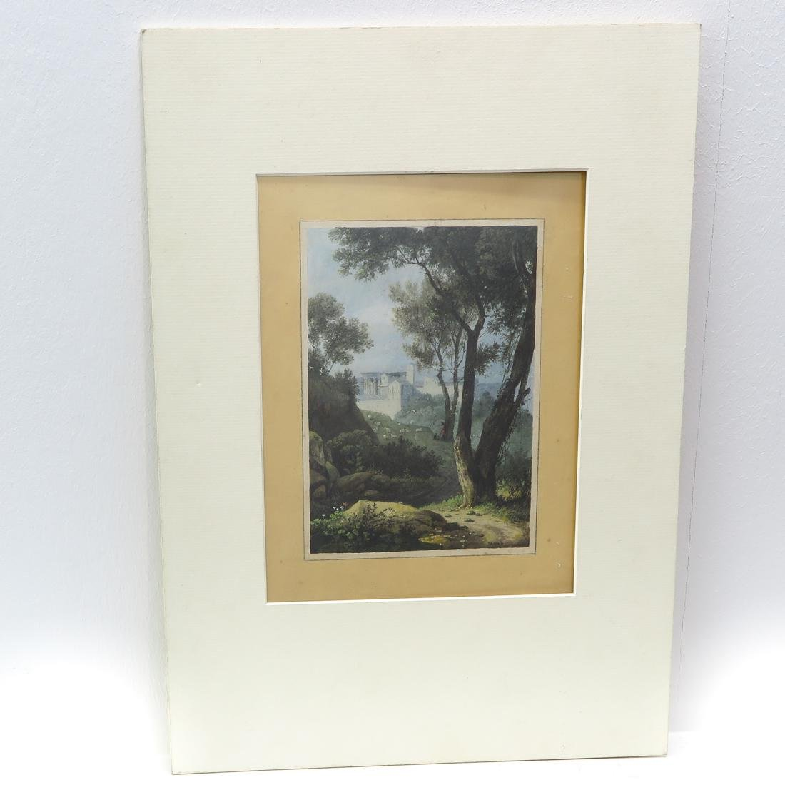 Signed J.A. Knip Watercolor