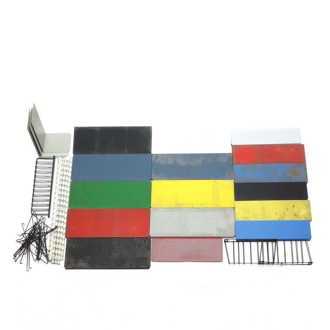 Retro Metal Shelving System