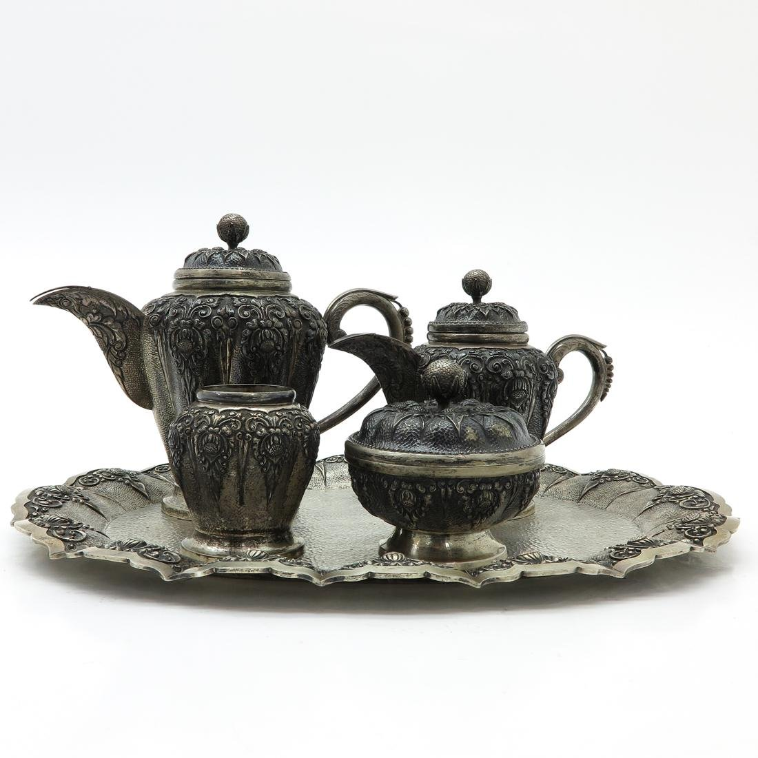 Djokja Silver Coffee and Tea Service