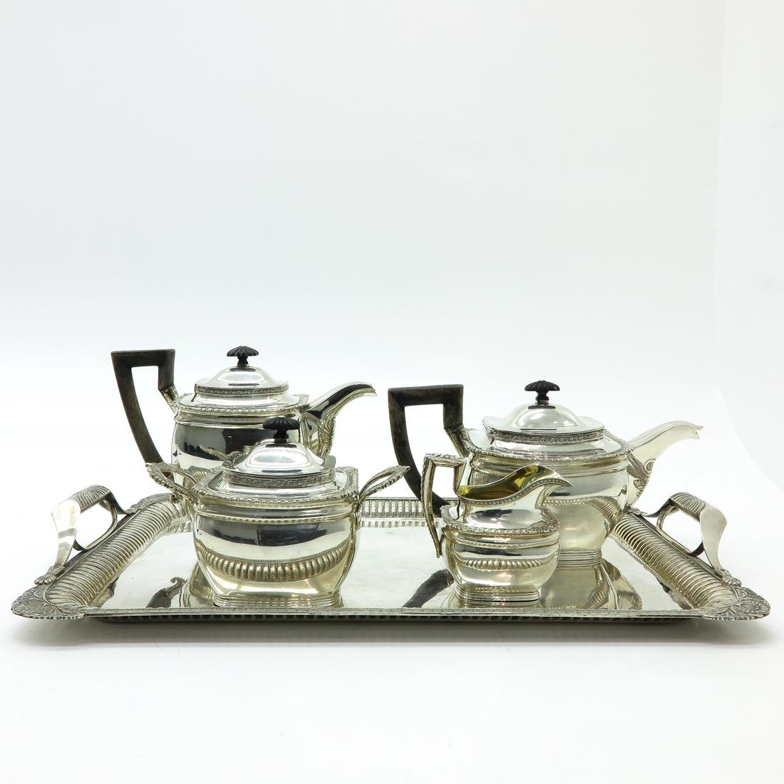 Russian Silver Coffee and Tea Service