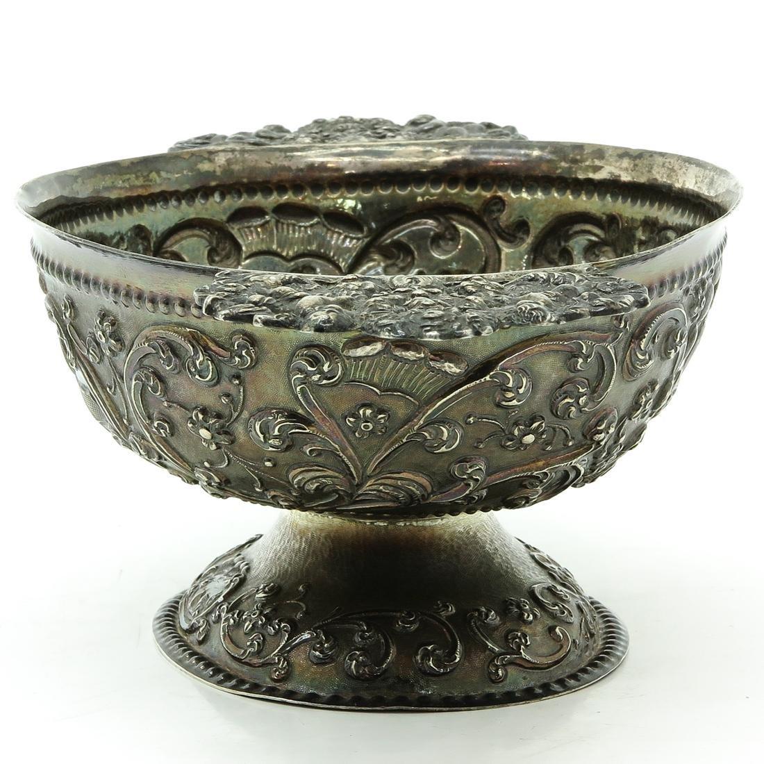 Dutch Silver Brandy Wine Bowl - 4
