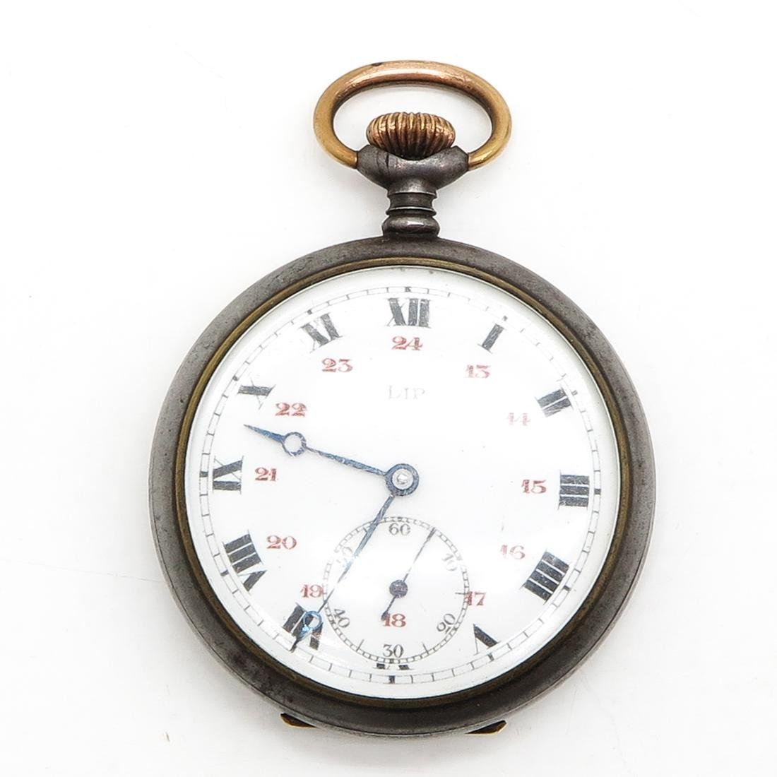 Signed LIP Pocket Watch