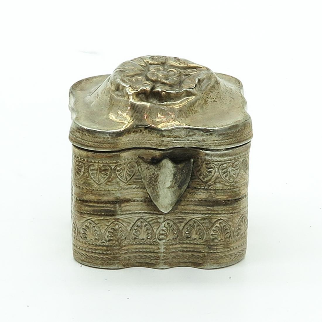 19th Century Dutch Silver Scent Box