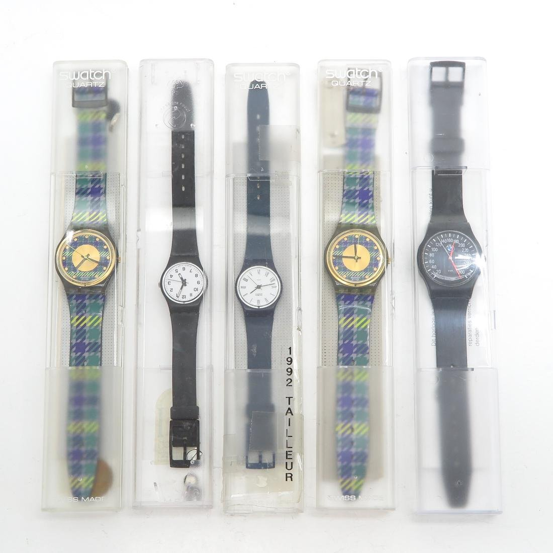 Diverse Lot of Watches Including Vintage Swatch