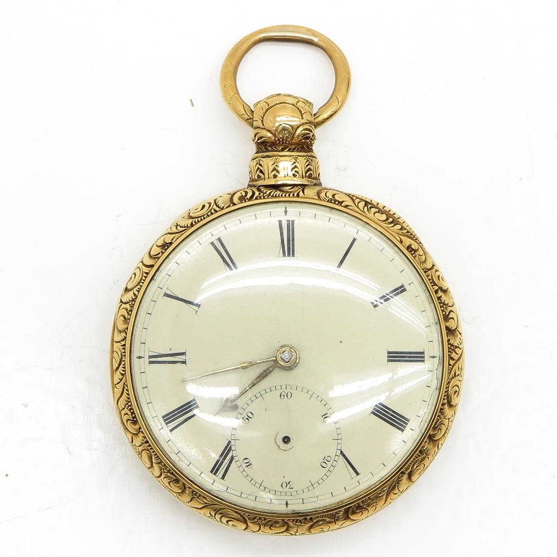 18KG 19th Century Pocket Watch