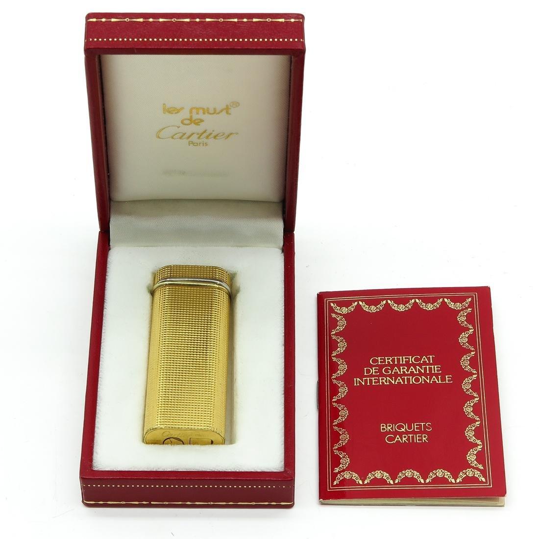 Cartier Lighter in Box
