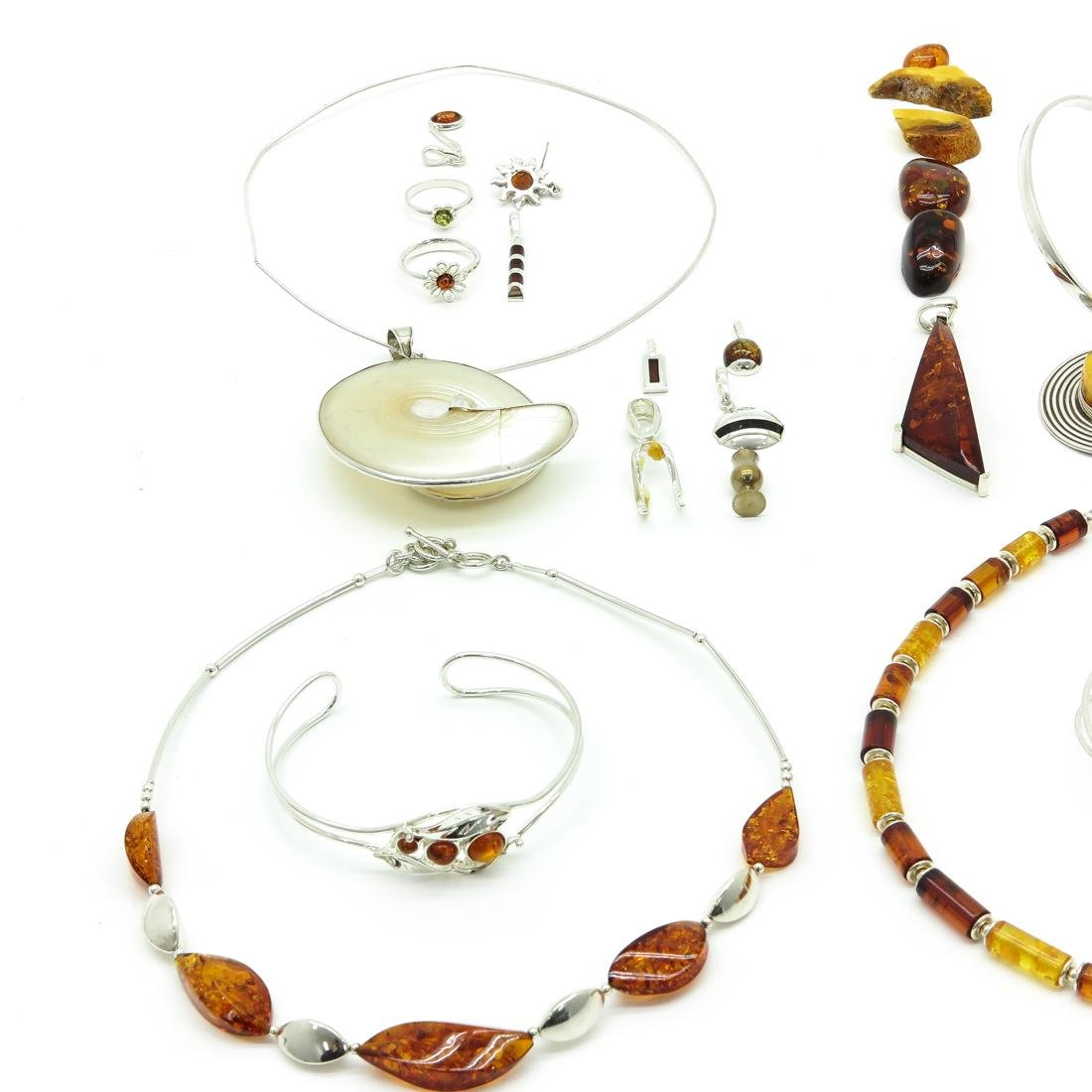 Lot of Silver Jewelry - 2