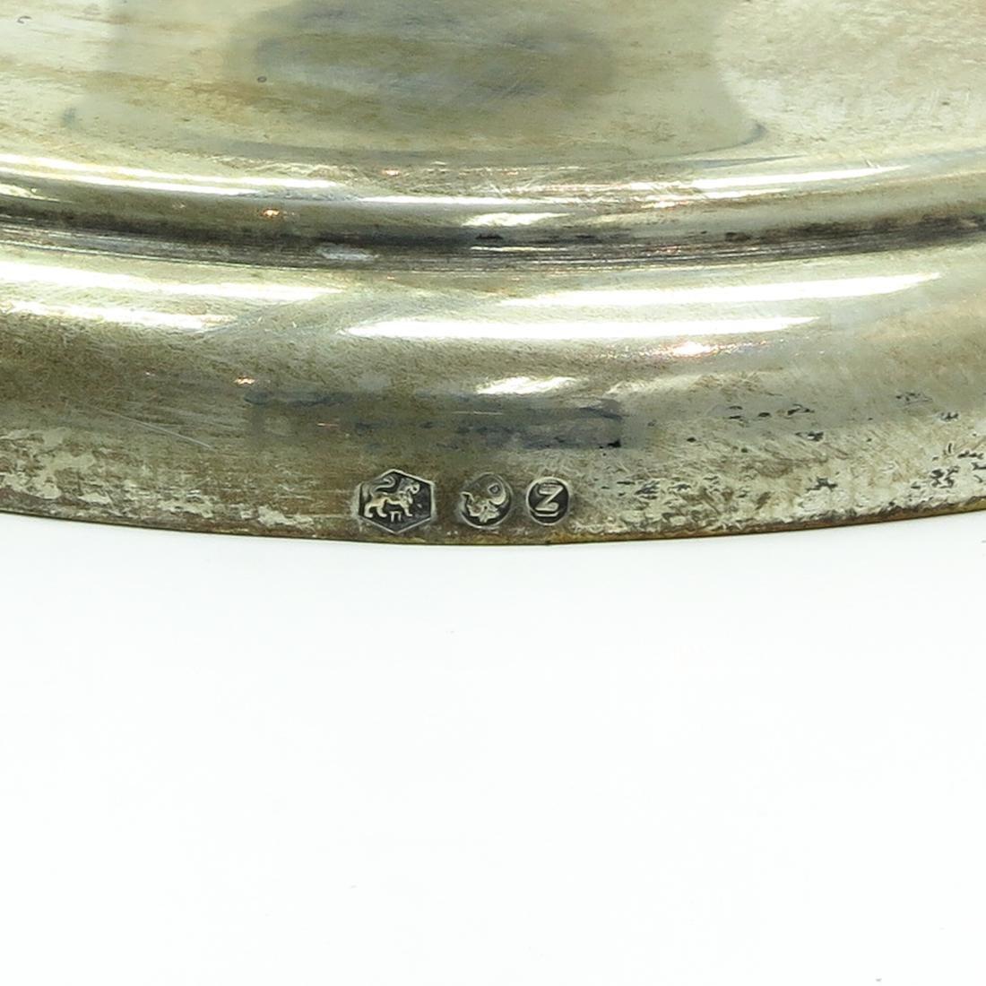 Dutch Silver Menorrah - 7