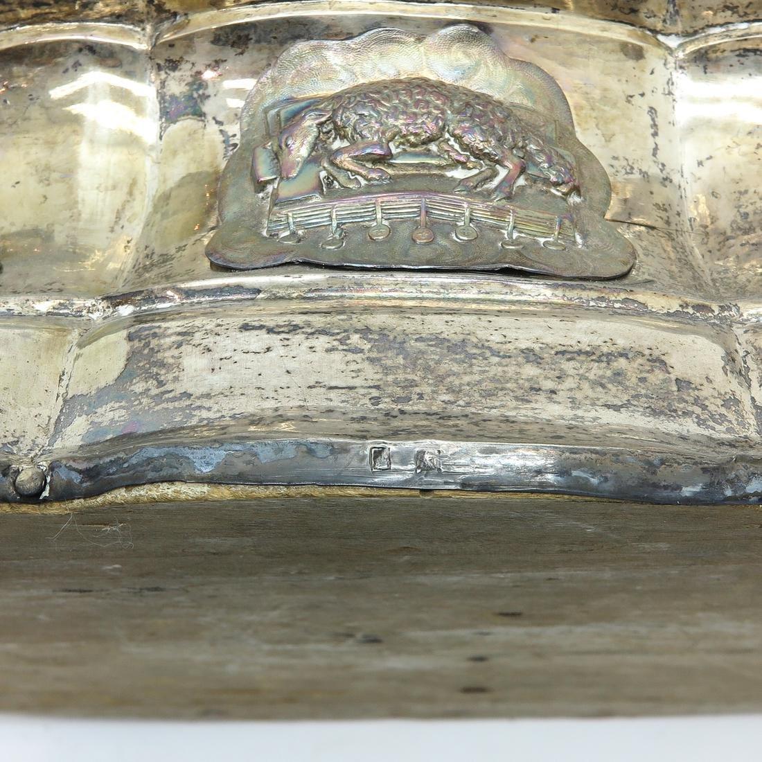 A Fine 18th / 19th Century Silver Monstrance - 5