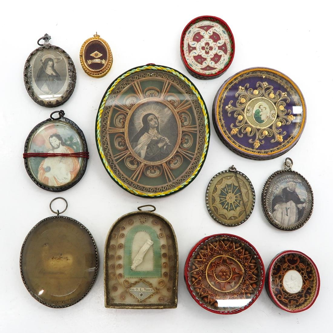 A Nice Diverse Collection of 12 Relics