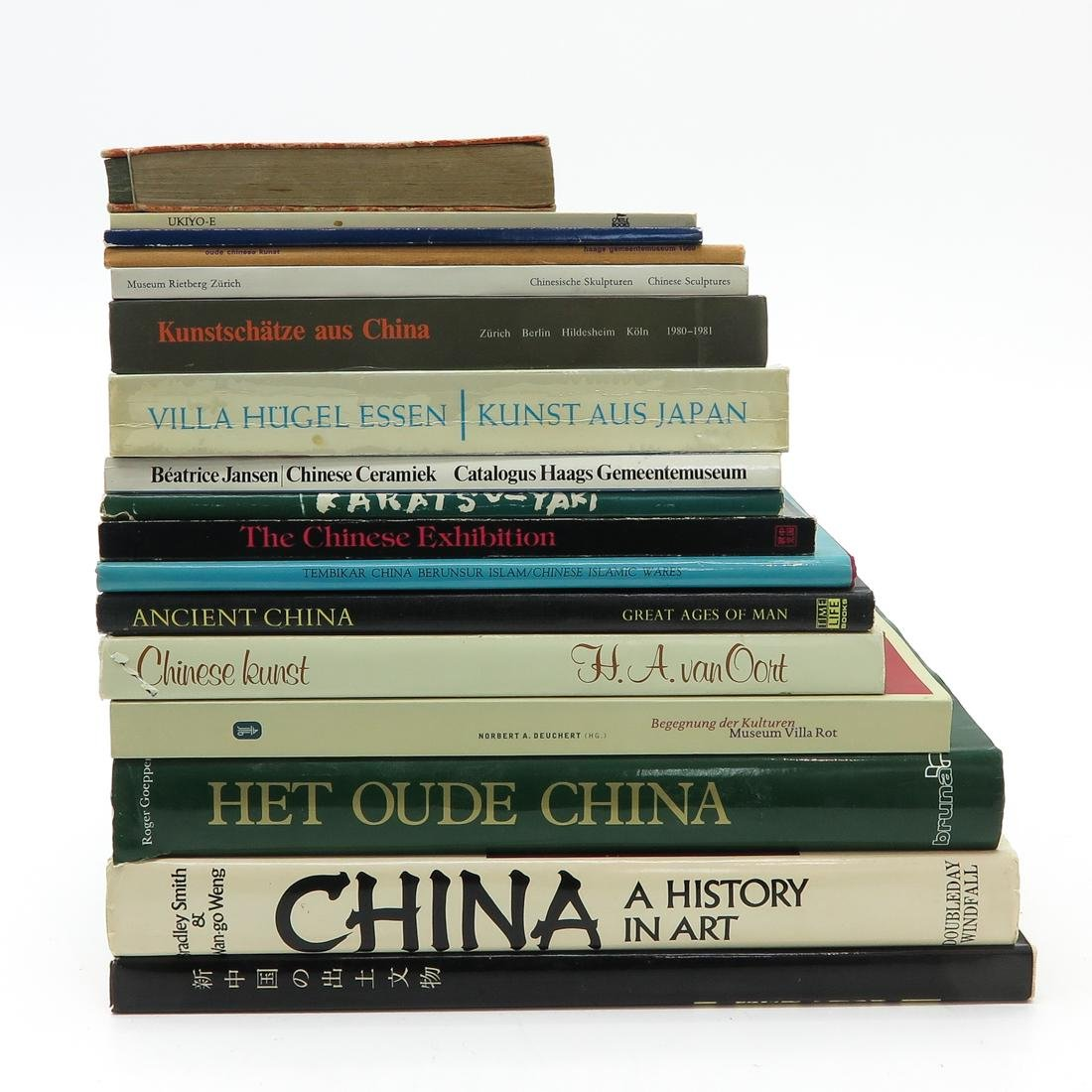 Lot of 17 Asian Books