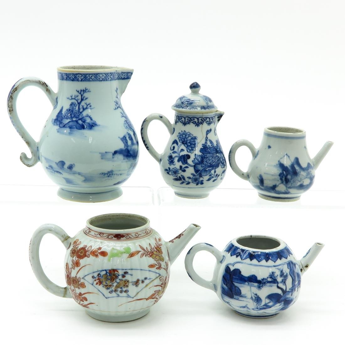 Diverse Lot of Creamers & Teapots - 3