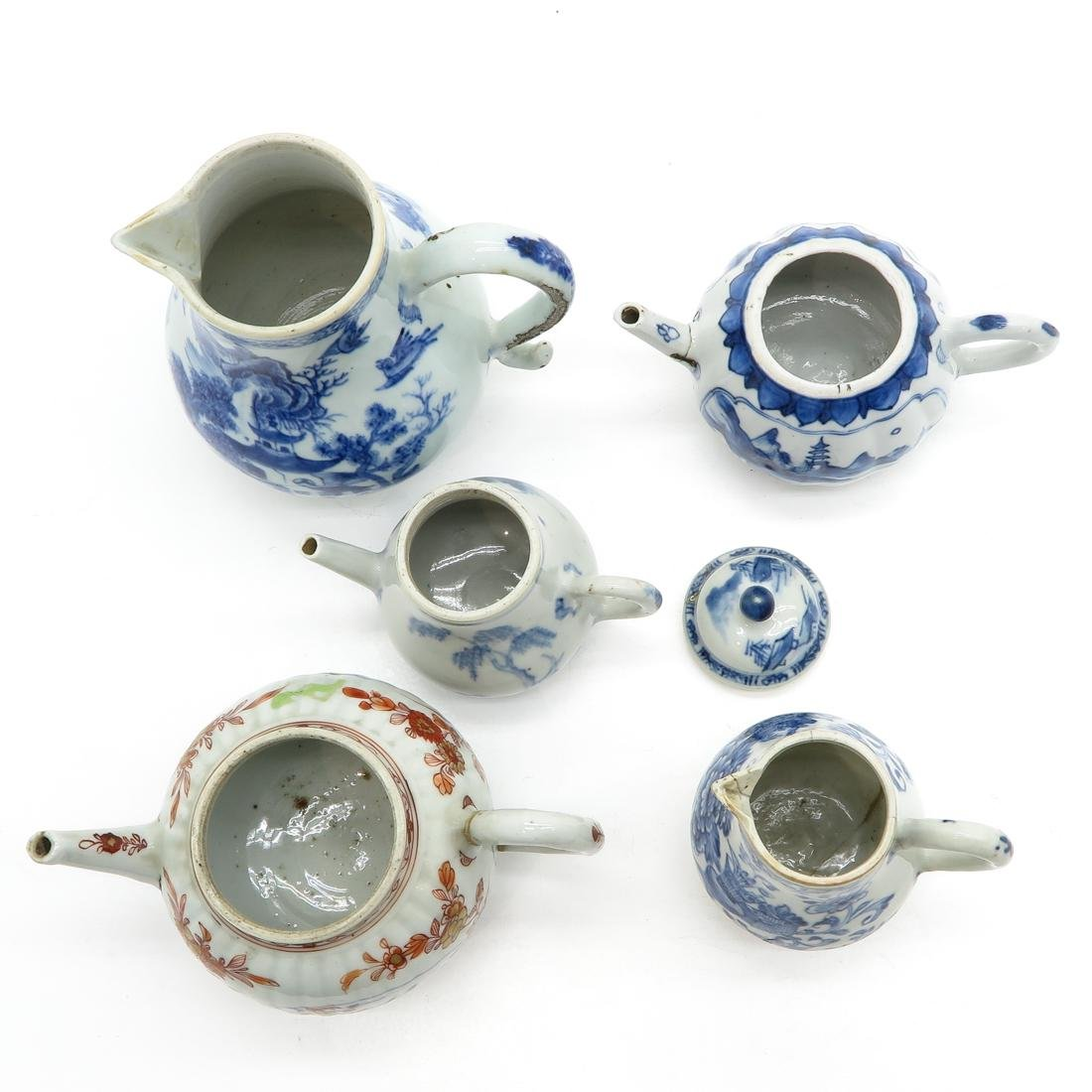 Diverse Lot of Creamers & Teapots - 5