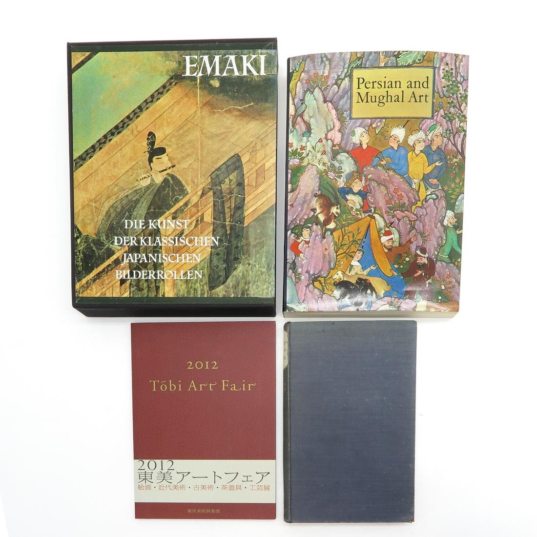 Lot of 9 Diverse Asian Subject Books - 2