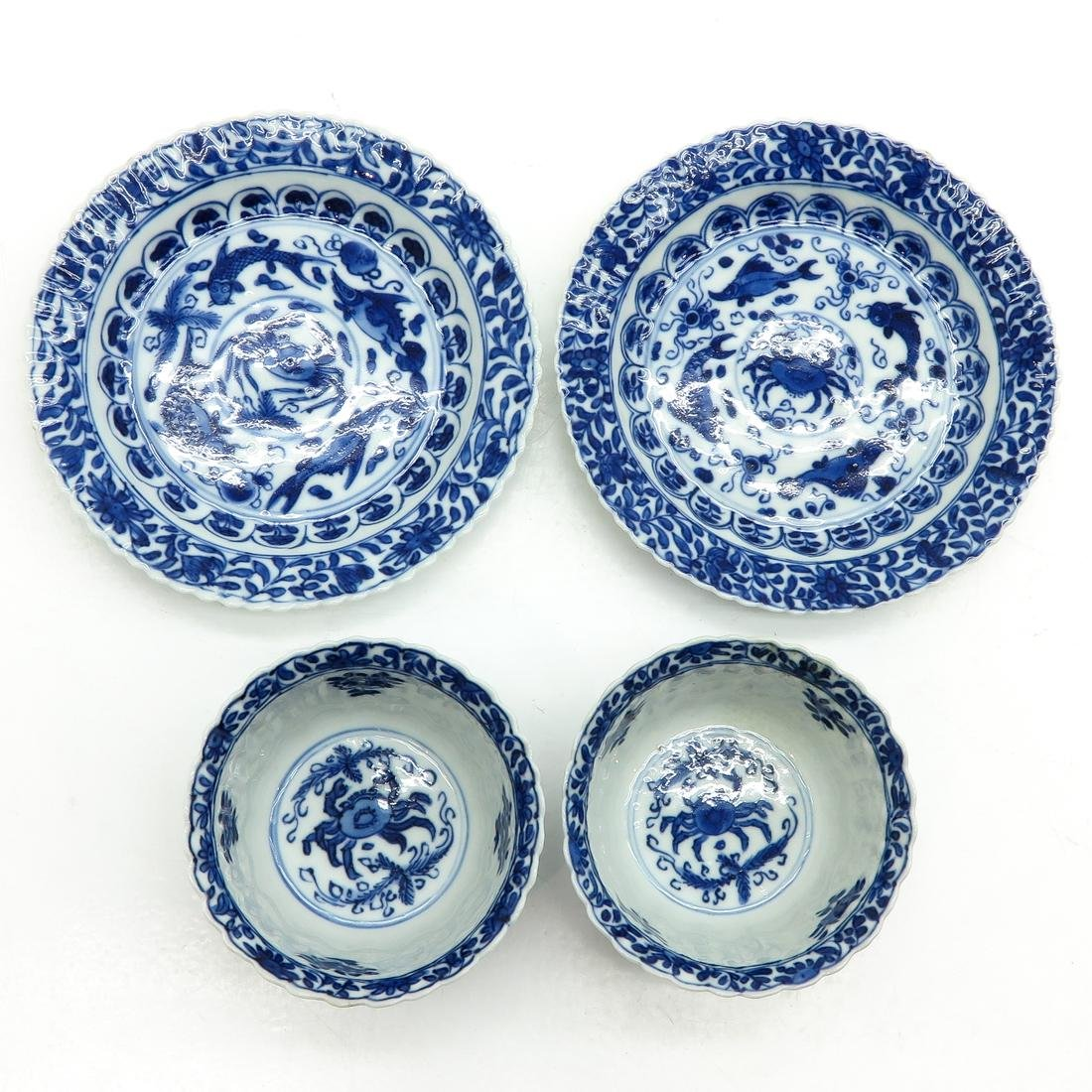 Lot of 2 Cups and Saucers - 5