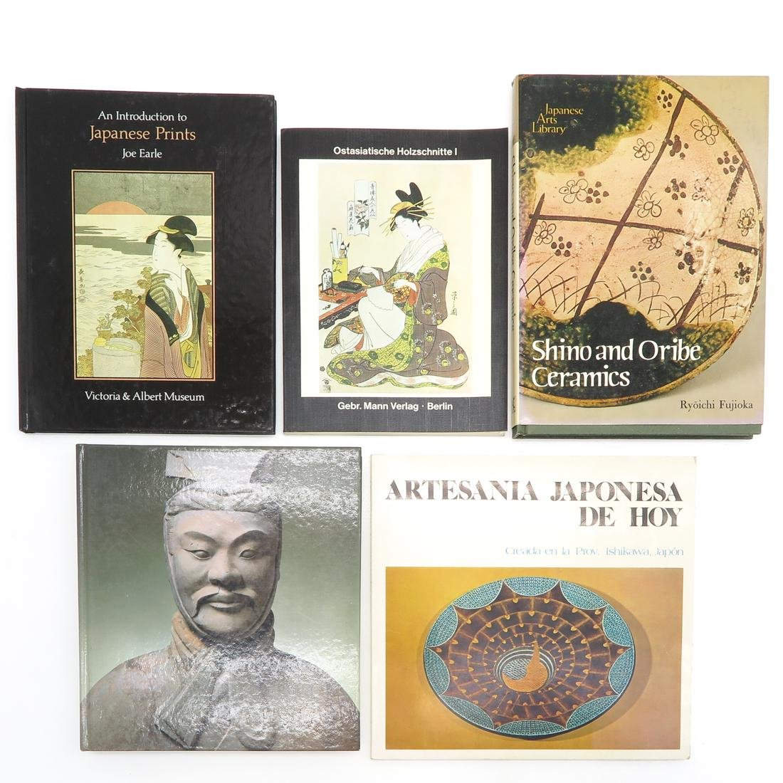 Lot of 16 Asian Books - 2