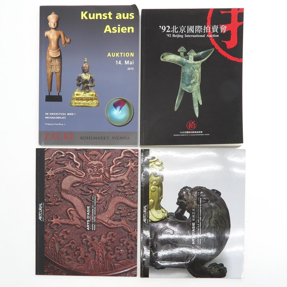 Lot of Asian Subject Auction Catalogs - 4