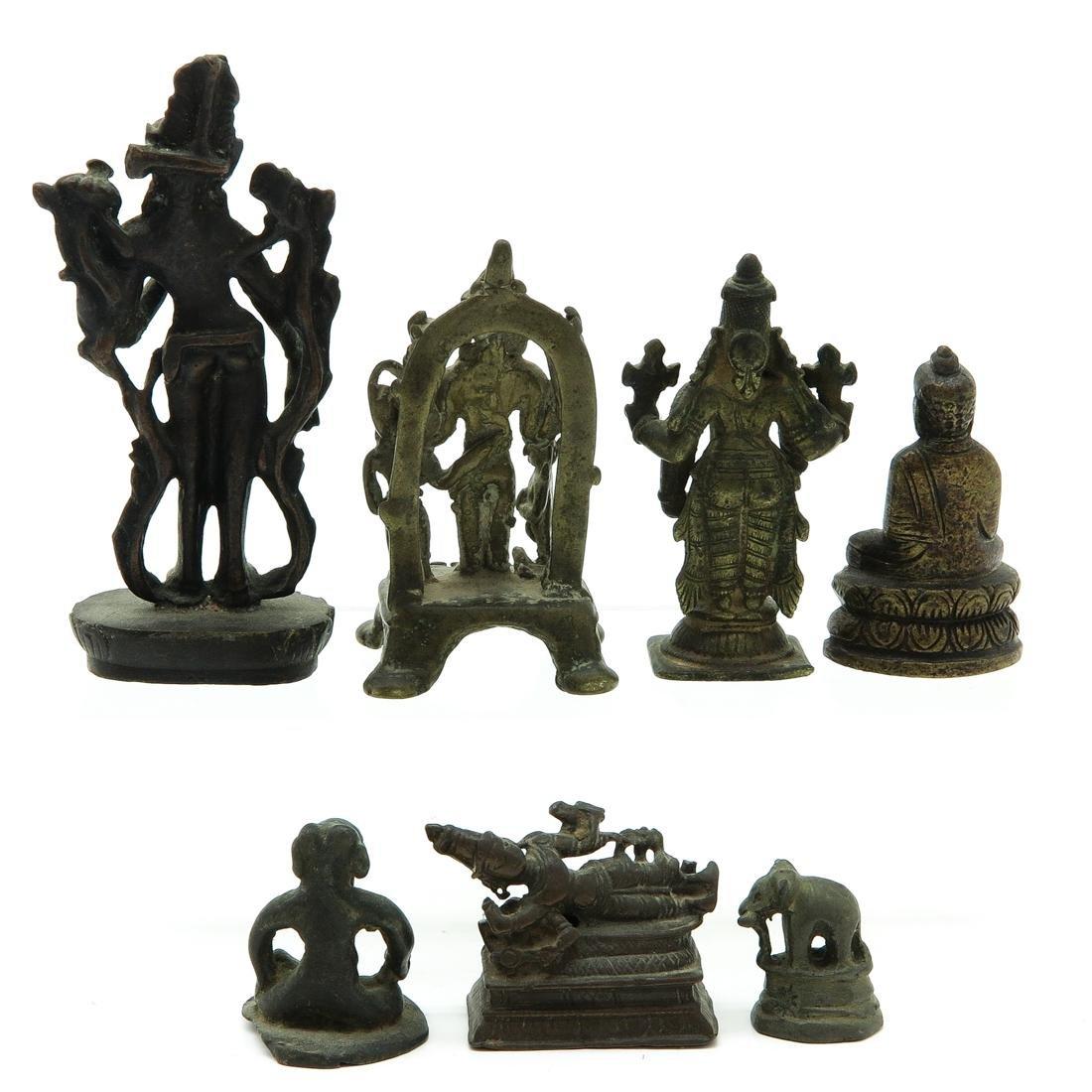 Lot of 7 Metal Sculptures - 3