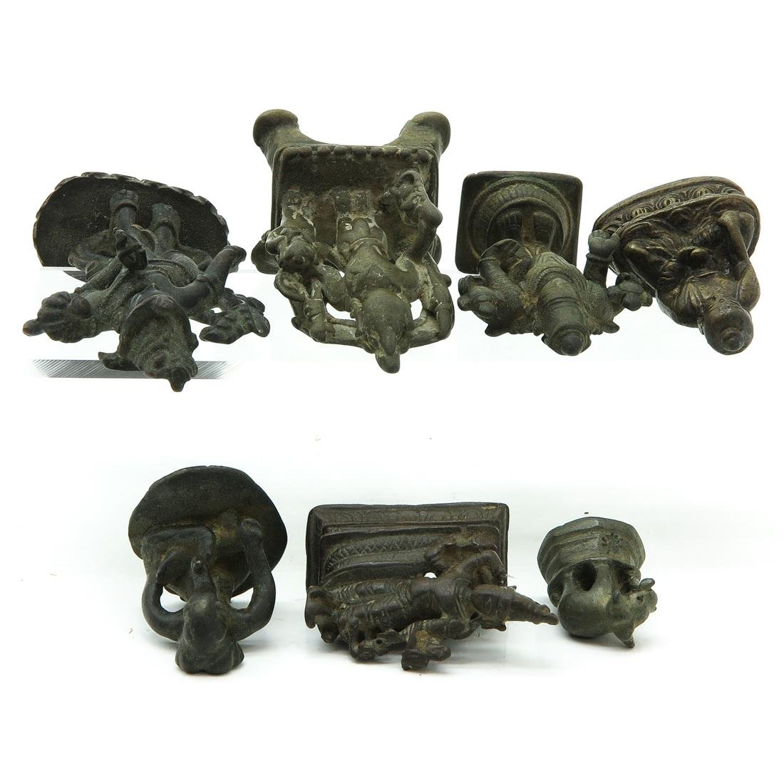 Lot of 7 Metal Sculptures - 5