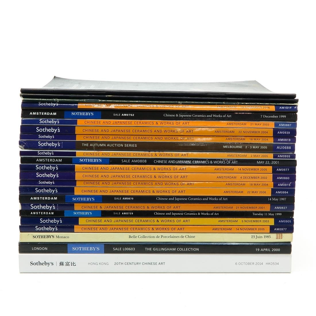 Lot of Sotheby's Asian Subject Auction Catalogs