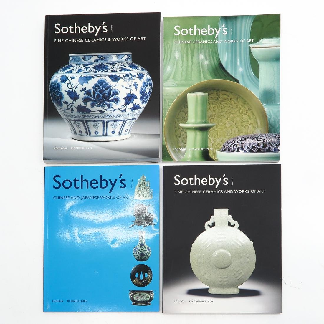 Lot of Sotheby's Asian Subject Auction Catalogs - 3