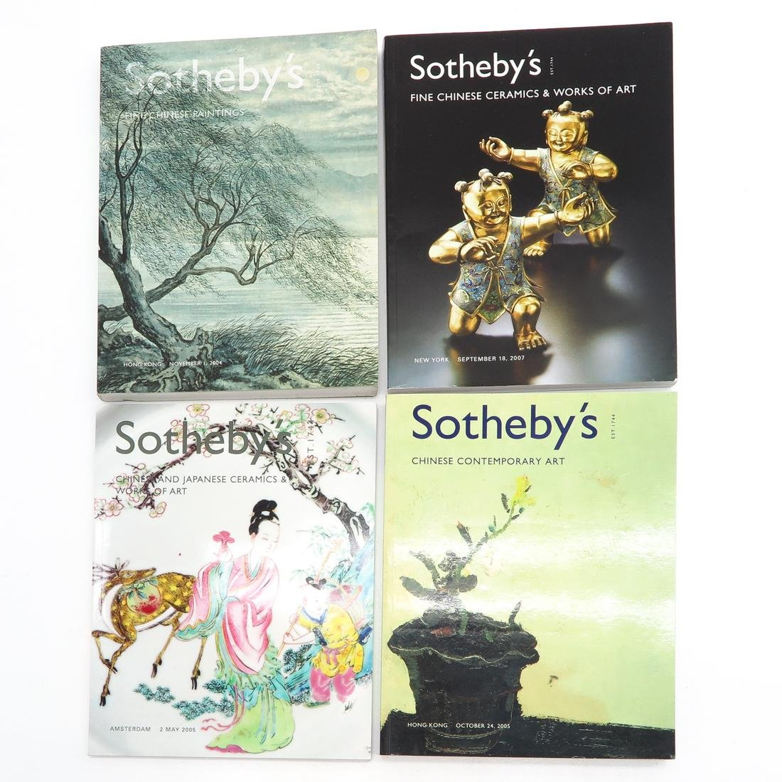 Lot of Sotheby's Asian Subject Auction Catalogs - 2