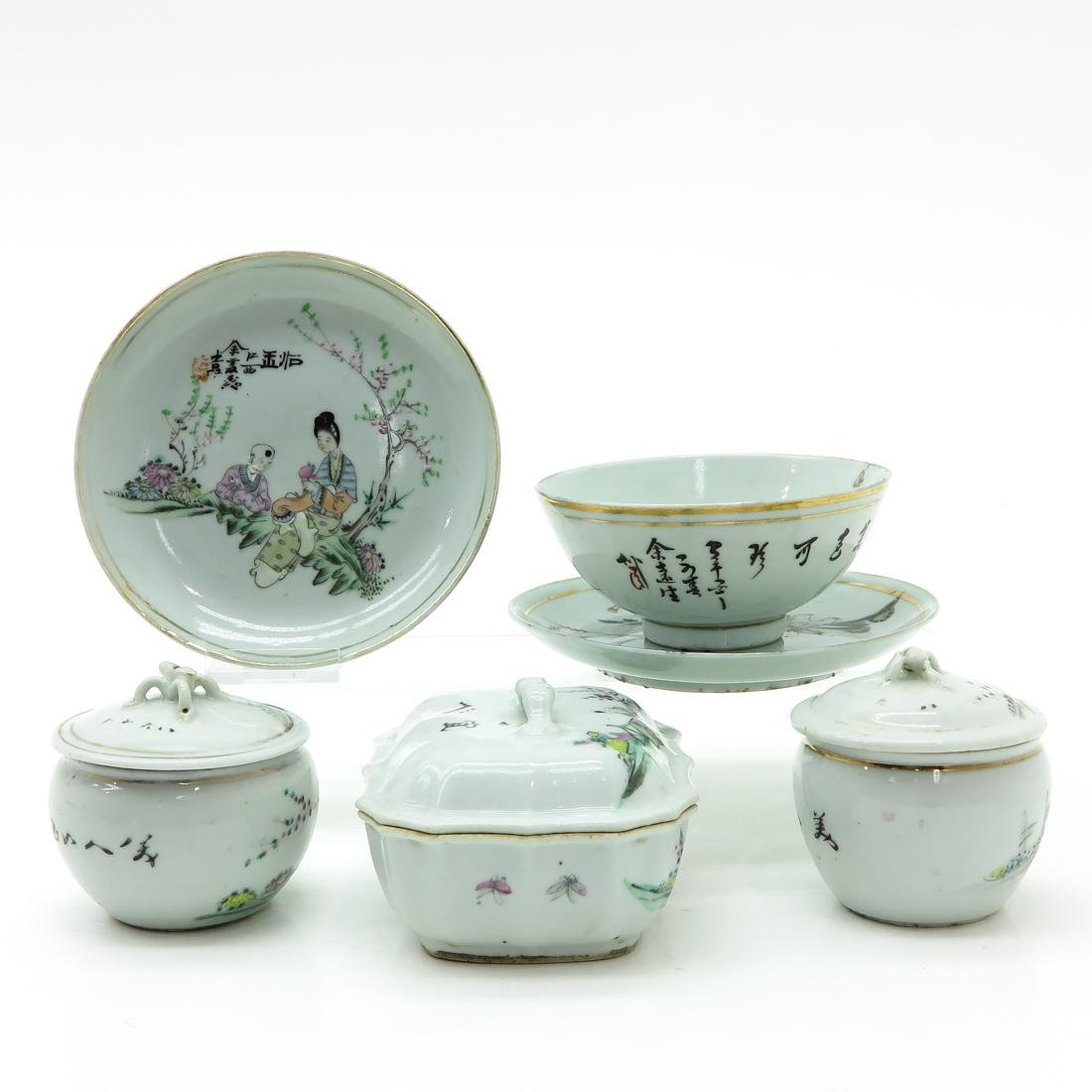 Diverse Lot of Porcelain - 4