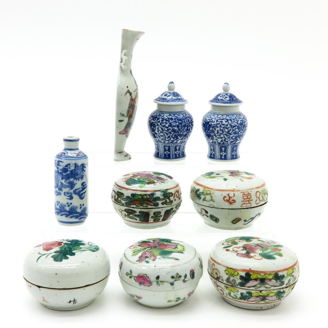 Diverse Lot of Porcelain - 4