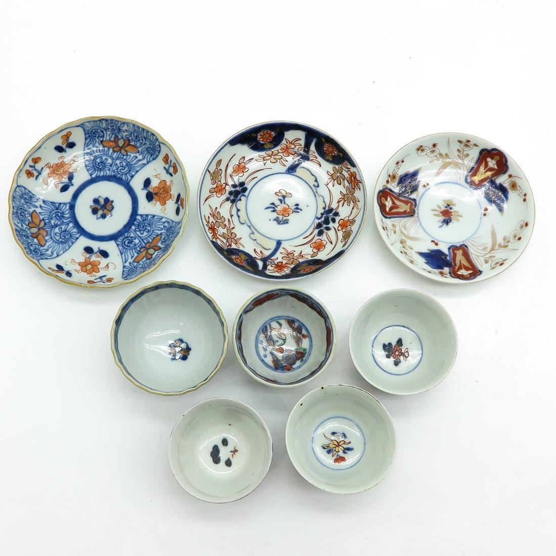 Diverse Lot of Cups and Saucers - 5
