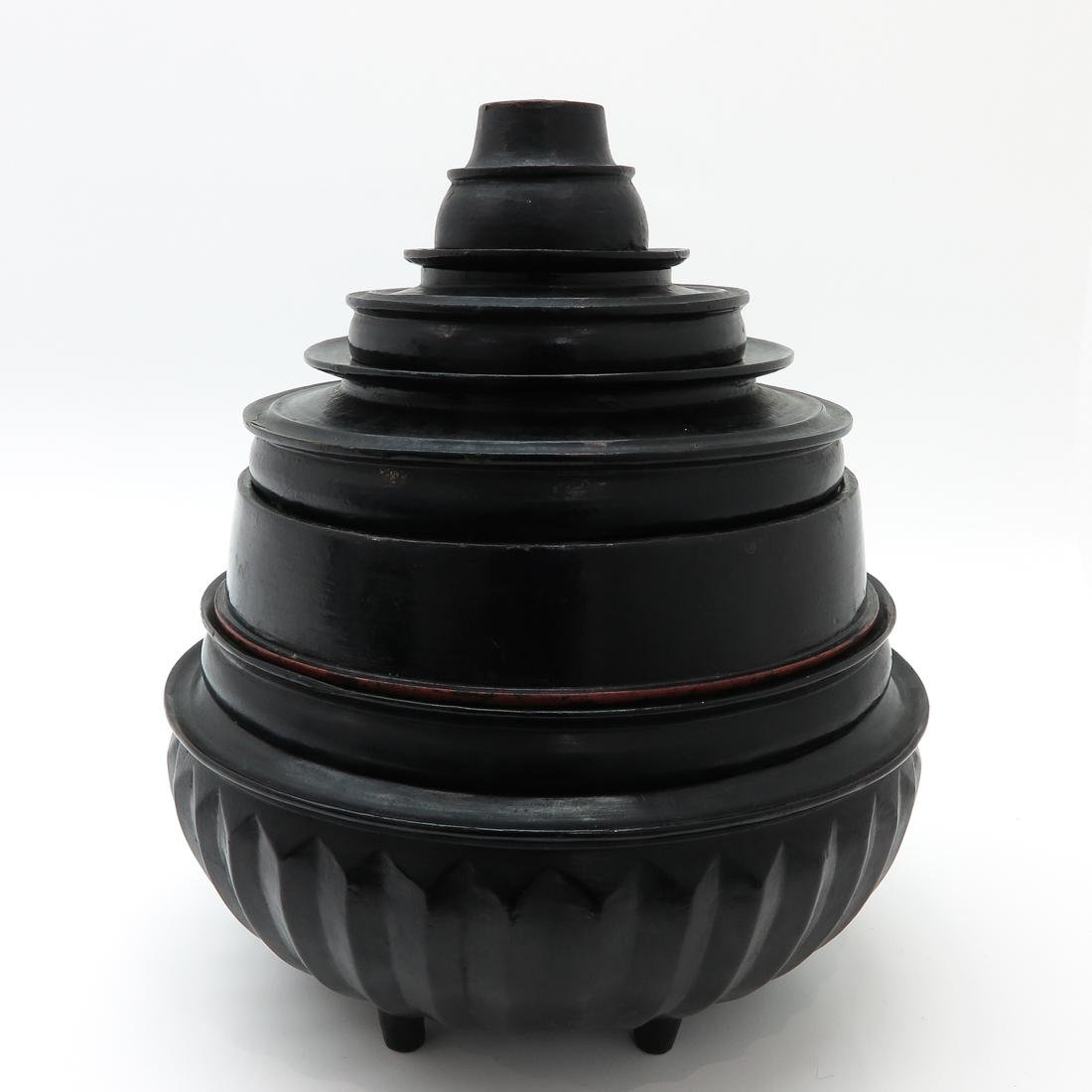 Lacquer Food Container