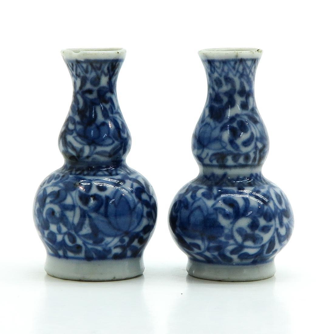 Pair of Miniature Vases - 2