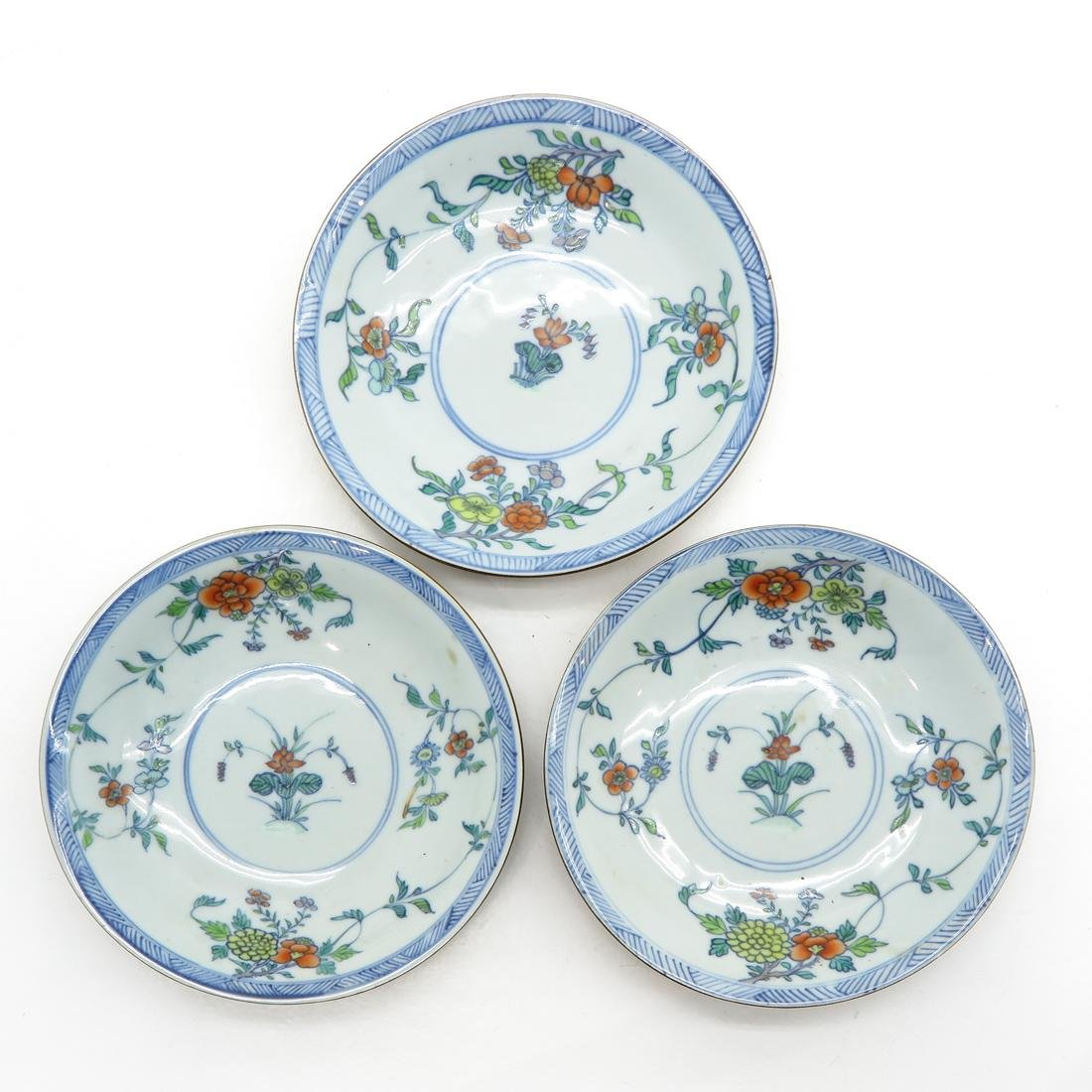 Lot of 3 Small Plates