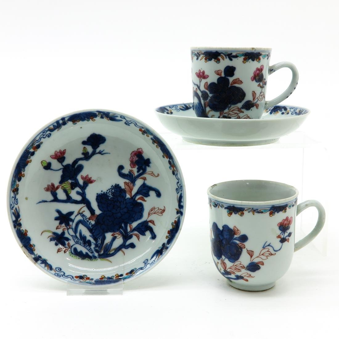 Lot of Cups and Saucers
