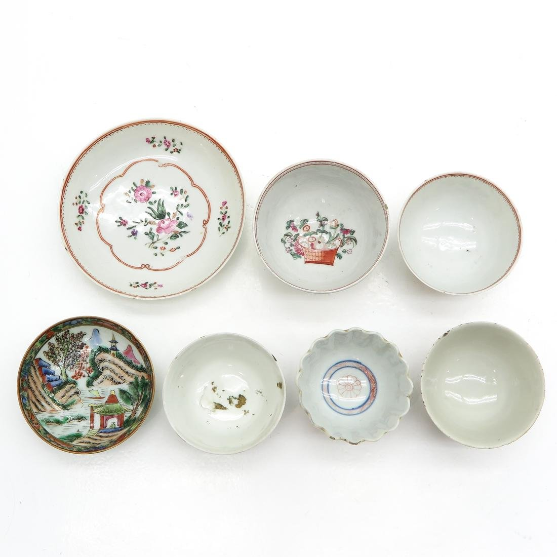 Diverse Lot of Cup and Saucers - 5