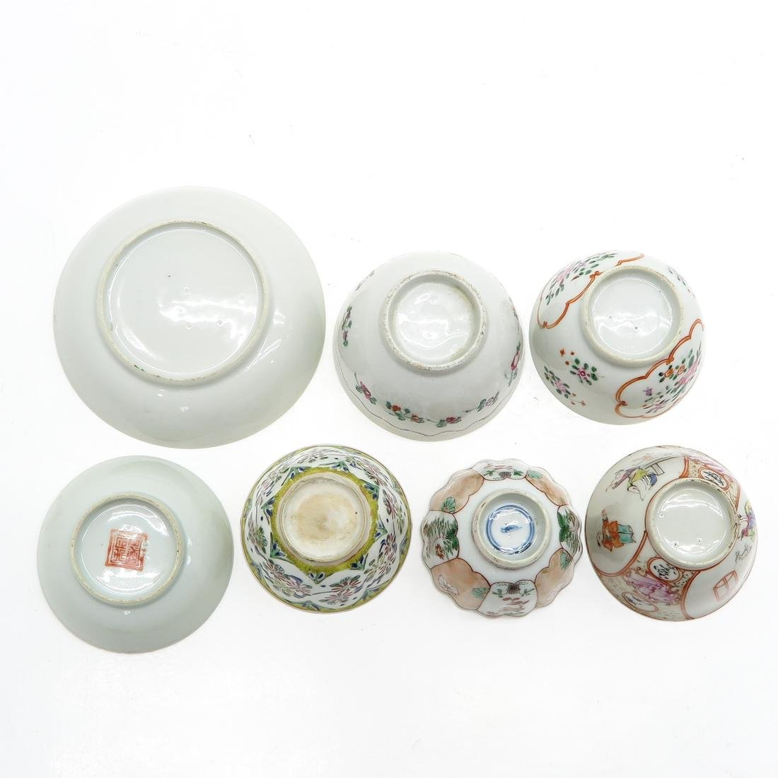 Diverse Lot of Cup and Saucers - 6