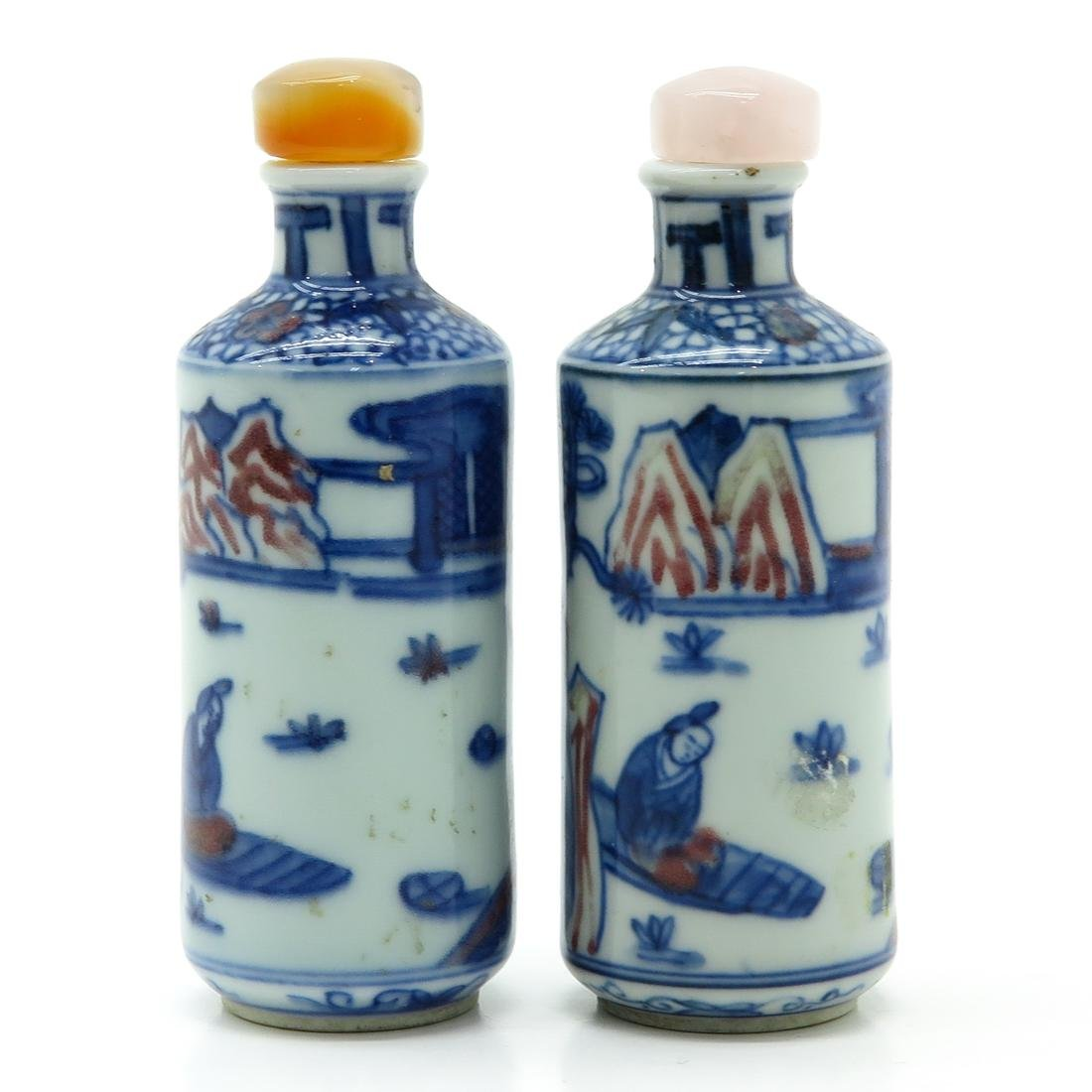 Lot of 2 Snuff Bottles - 3