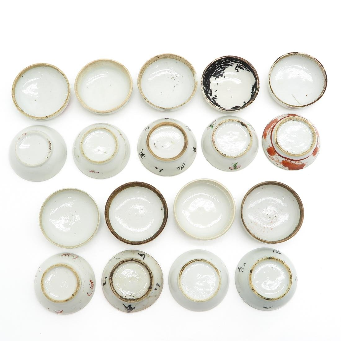 Lot of 9 Small Covered Jars - 6