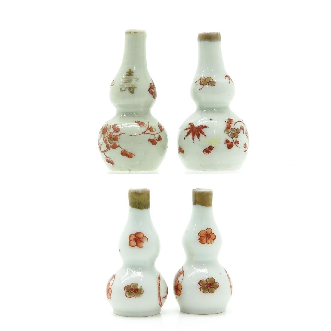 Two Pair of Miniature Doll House Vases - 2