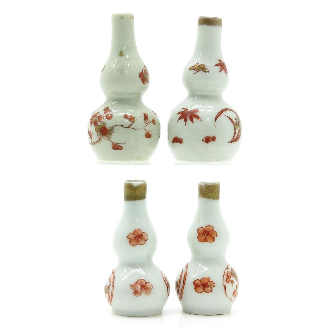 Two Pair of Miniature Doll House Vases - 4