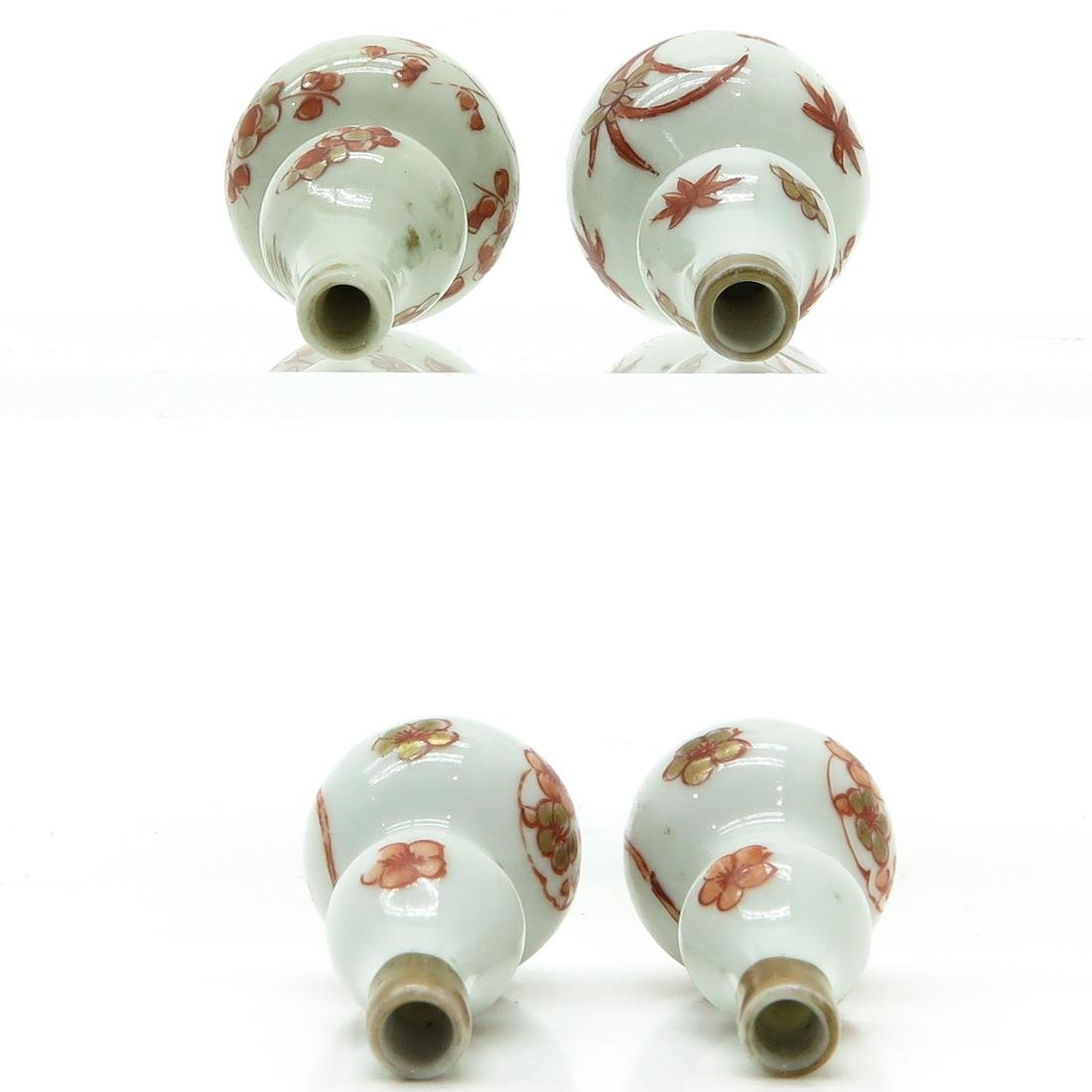 Two Pair of Miniature Doll House Vases - 5