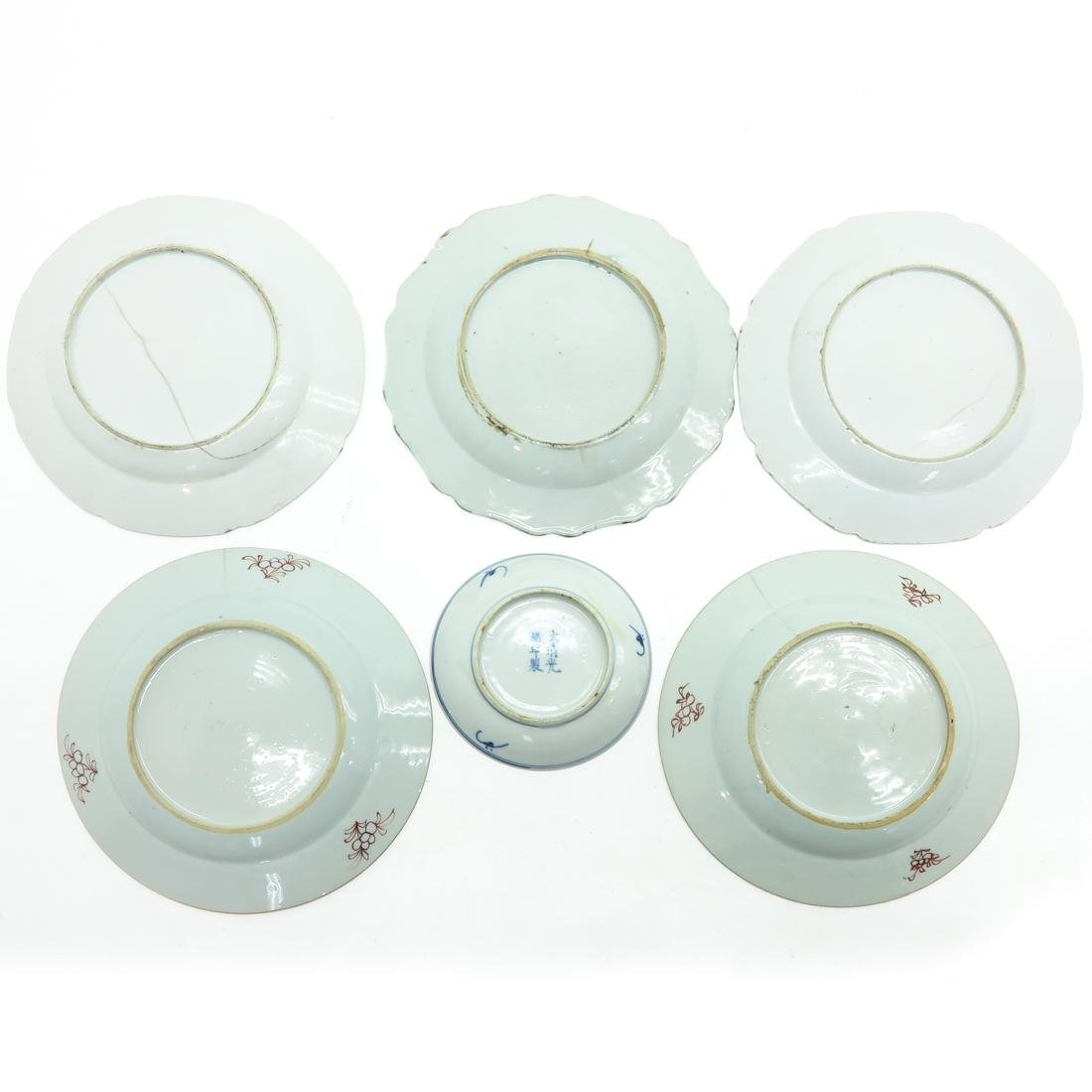 Diverse Lot of 6 Plates - 2