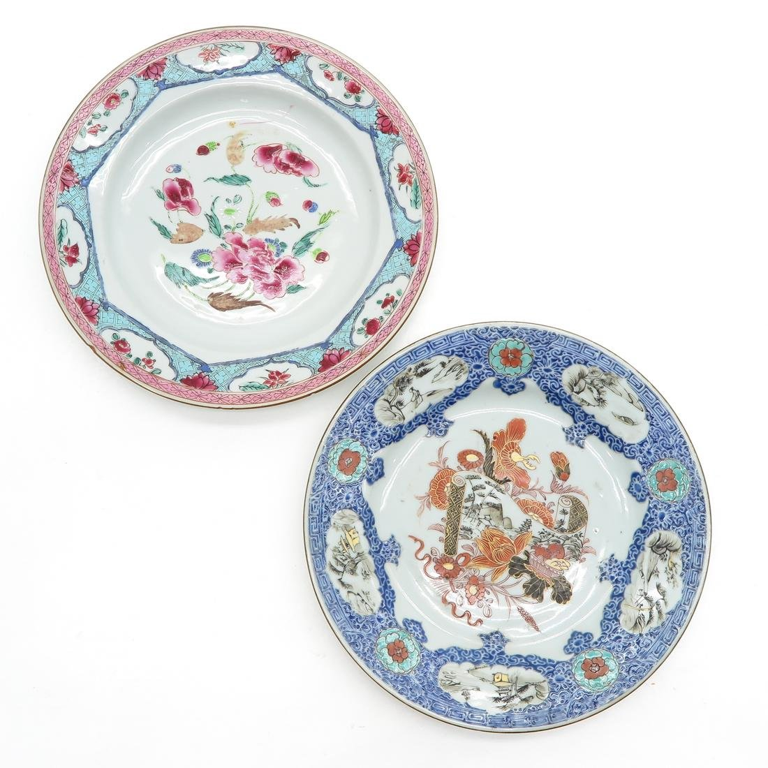 Lot of 2 Plates
