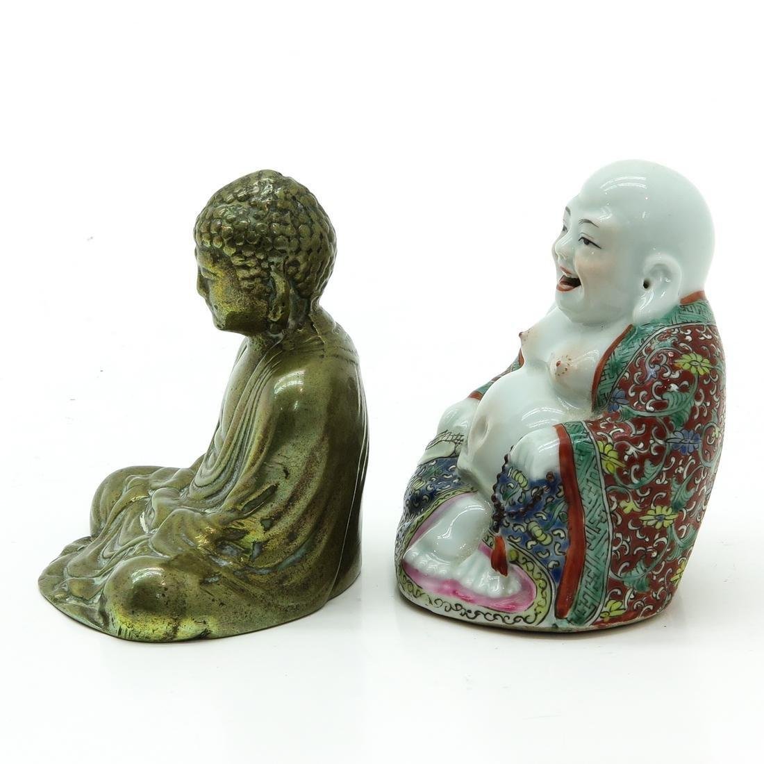 Lot of 2 Buddha Sculptures - 2