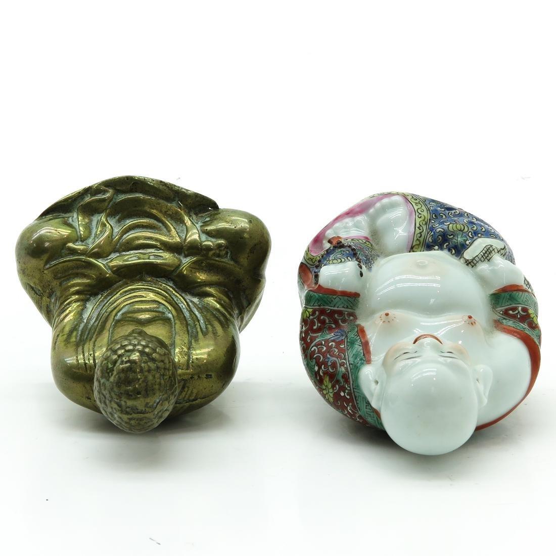 Lot of 2 Buddha Sculptures - 5