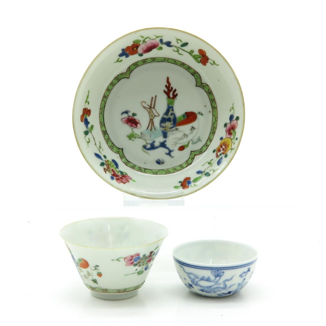 Cups and Saucer - 2