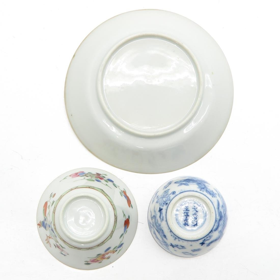 Cups and Saucer - 6