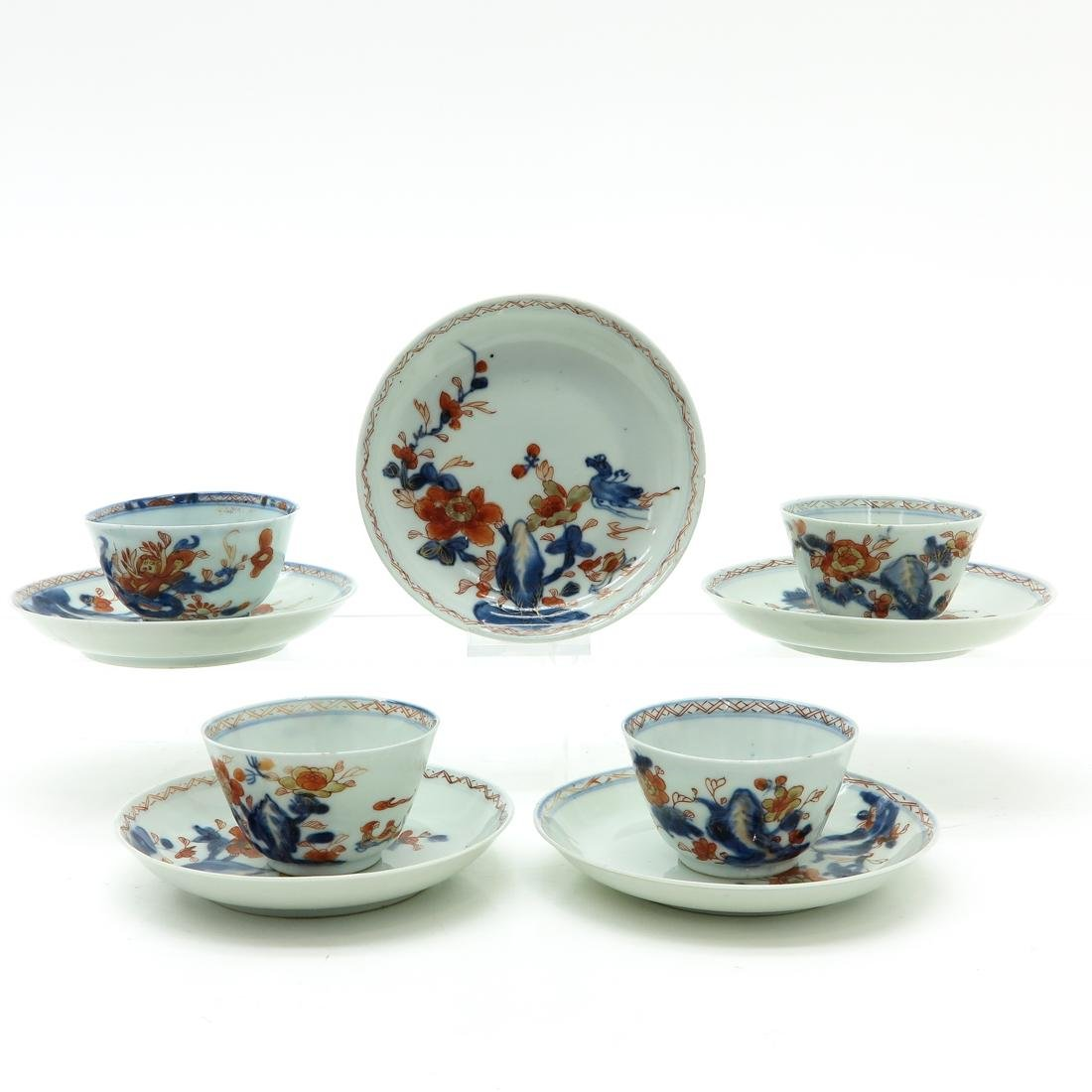 Set of Cups and Saucers