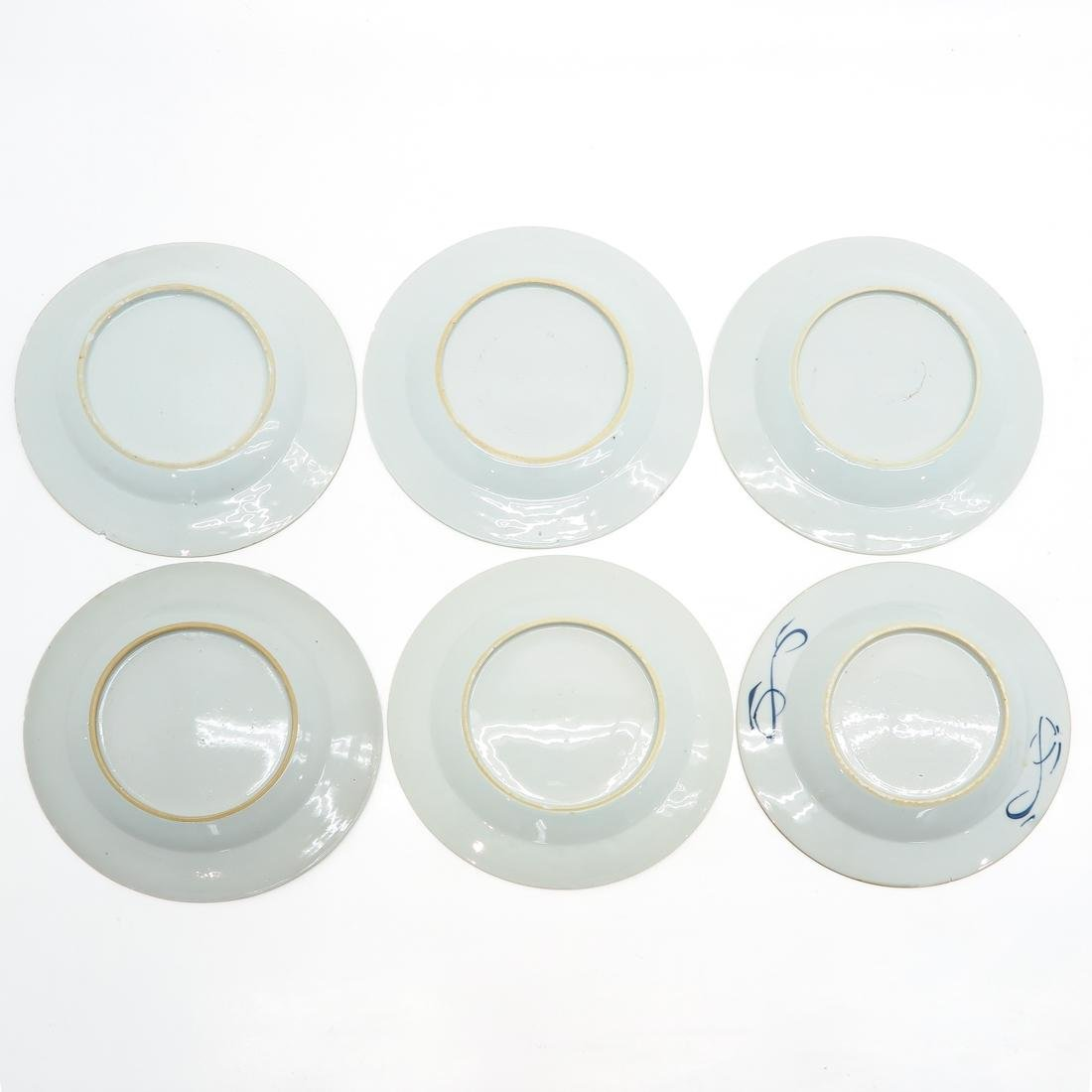 Lot of 6 Plates - 2